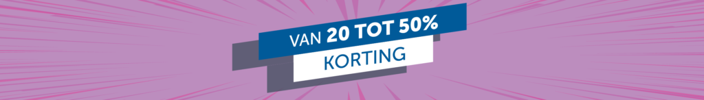 van_20_tot_50_korting